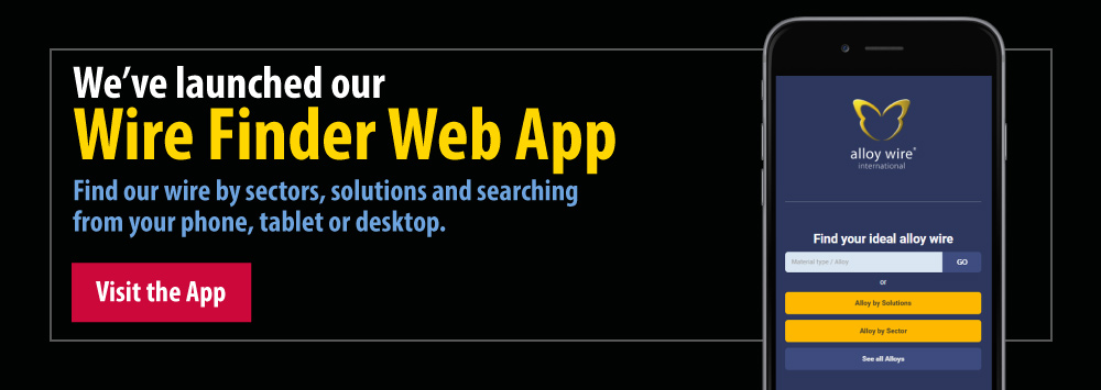 We've launched our Wire Finder Web App