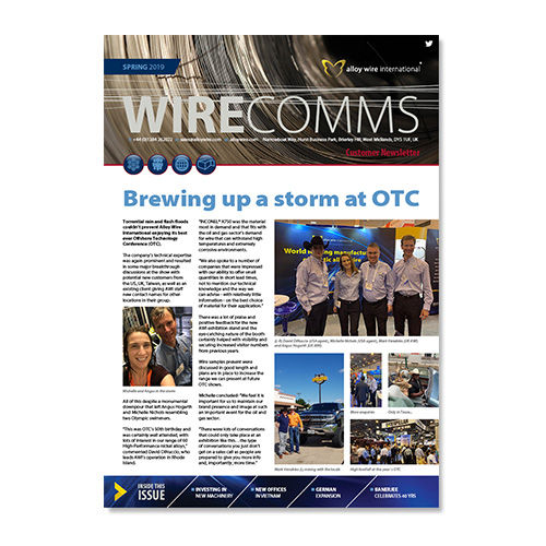 Alloy wire Spring newsletter